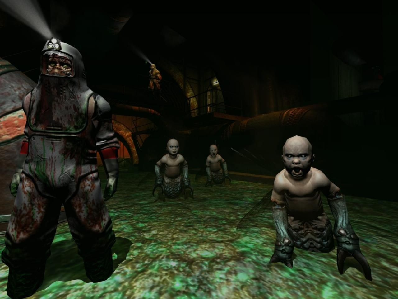 Screenshot for the game Doom 3 (2004) PC | RePack от R.G. Механики