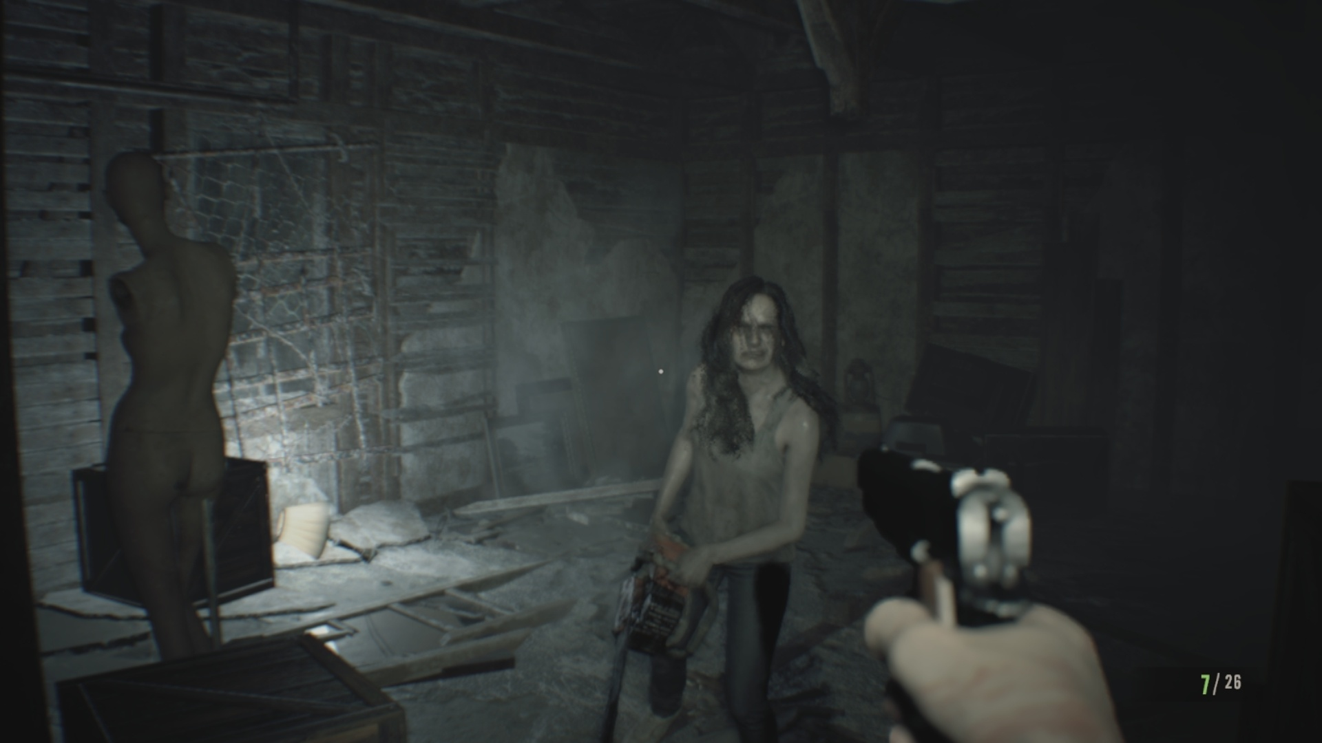 Screenshot for the game Resident Evil 7: Biohazard (2017) PC | RePack от R.G. Механики