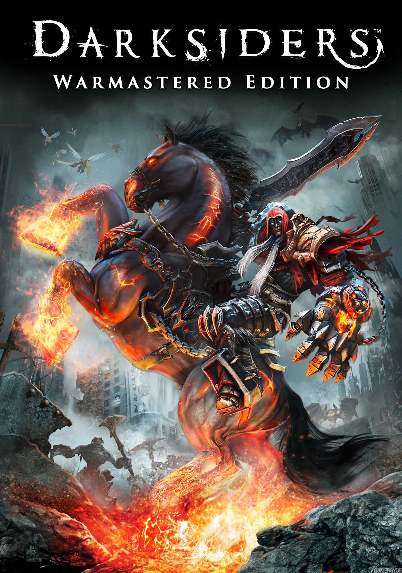 Poster Darksiders Warmastered Edition (29 nov 2016)