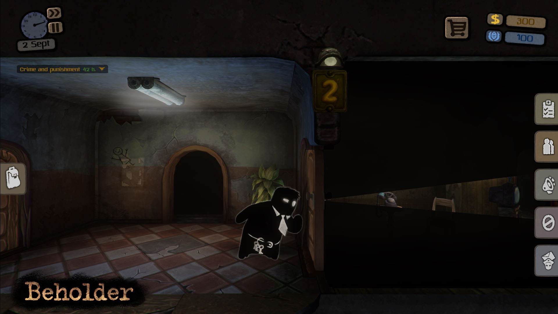 Screenshot for the game Beholder (2016) PC | RePack от R.G. Механики