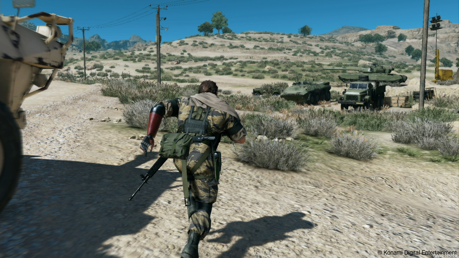 Screenshot for the game Metal Gear Solid V: The Phantom Pain [v 1.0.7.1] (2015) PC | RePack от R.G. Механики