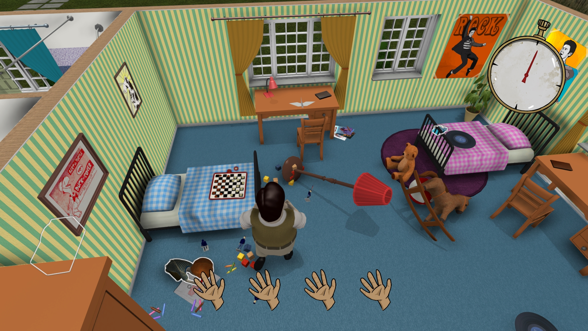 Screenshot for the game 60 Seconds! [v 1.204] (2015) PC | RePack от R.G. Механики