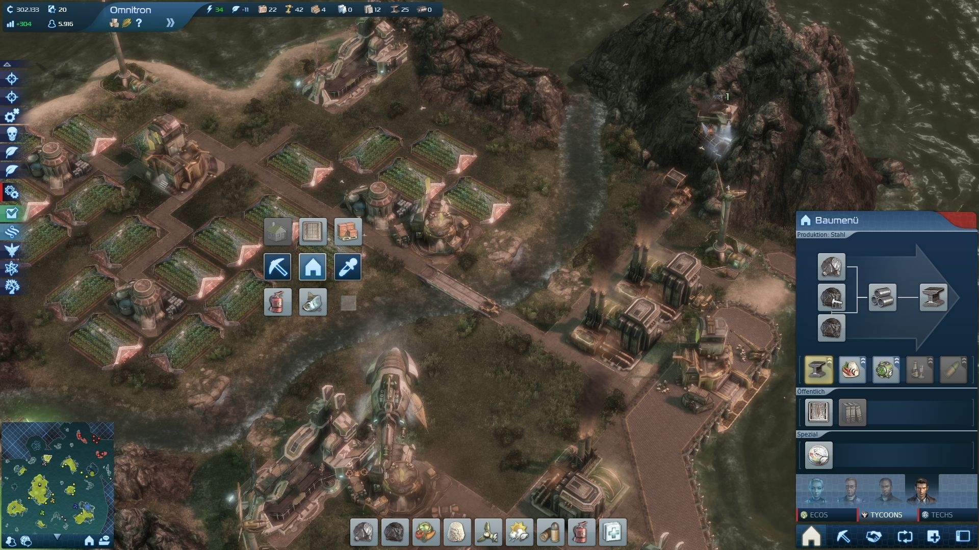 Screenshot for the game Anno 2070: Complete Edition (2011) PC | RePack от R.G. Механики