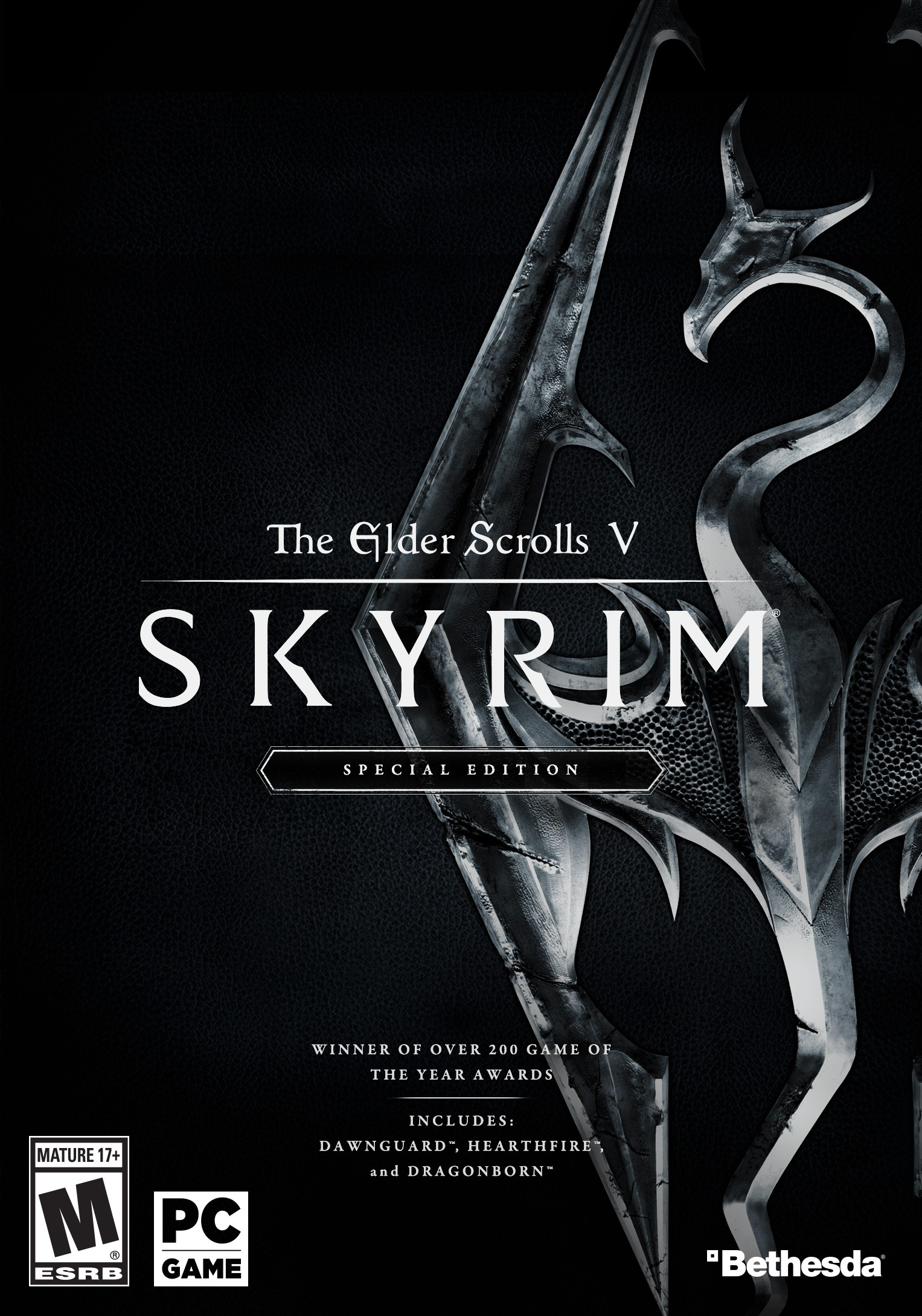 Cover The Elder Scrolls V: Skyrim - Special Edition [v 1.4.2.0.8] (2016) PC | RePack от R.G. Механики