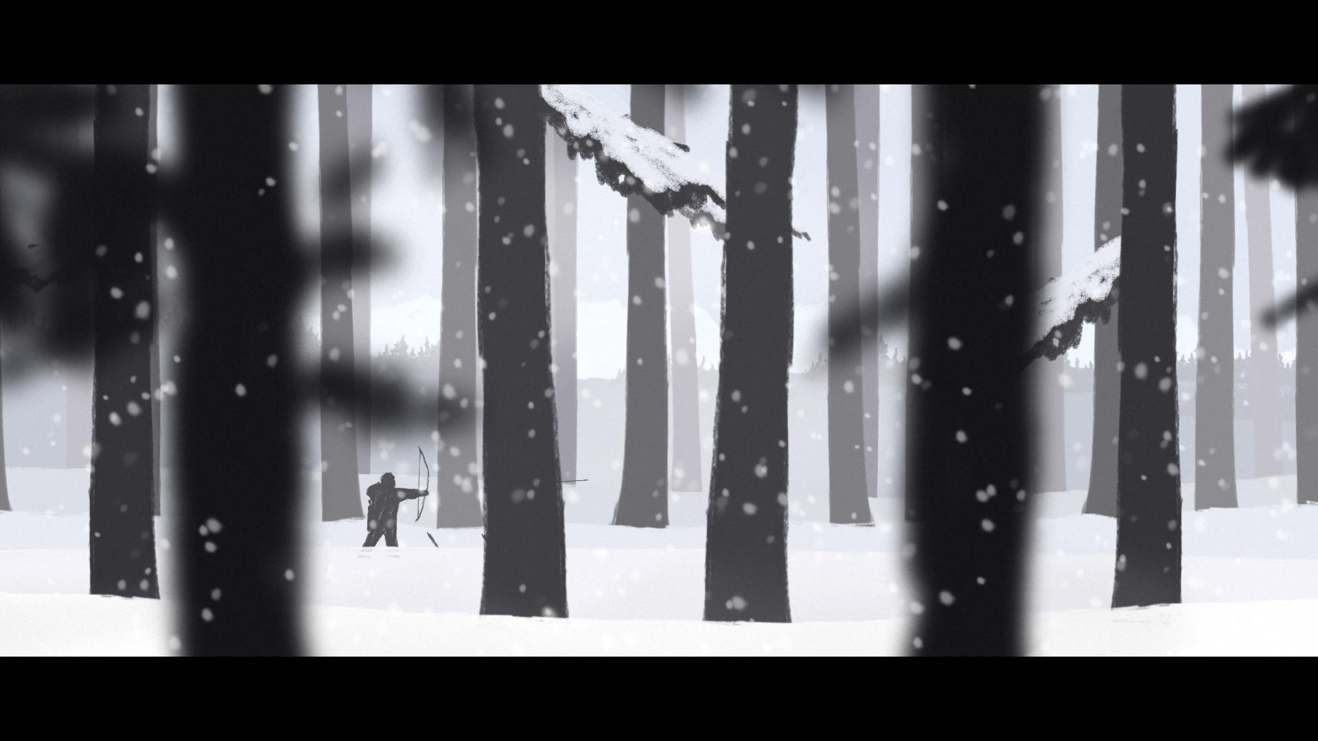Screenshot for the game Человеколось / The Mooseman (2017) PC | RePack от R.G. Механики