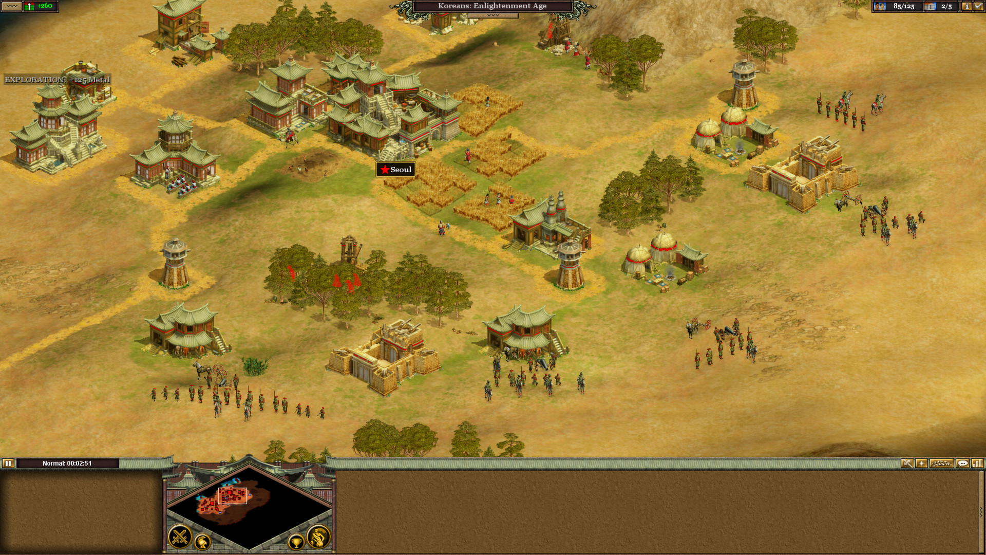 Screenshot for the game Rise of Nations: Extended Edition (2014) PC | RePack от R.G. Механики
