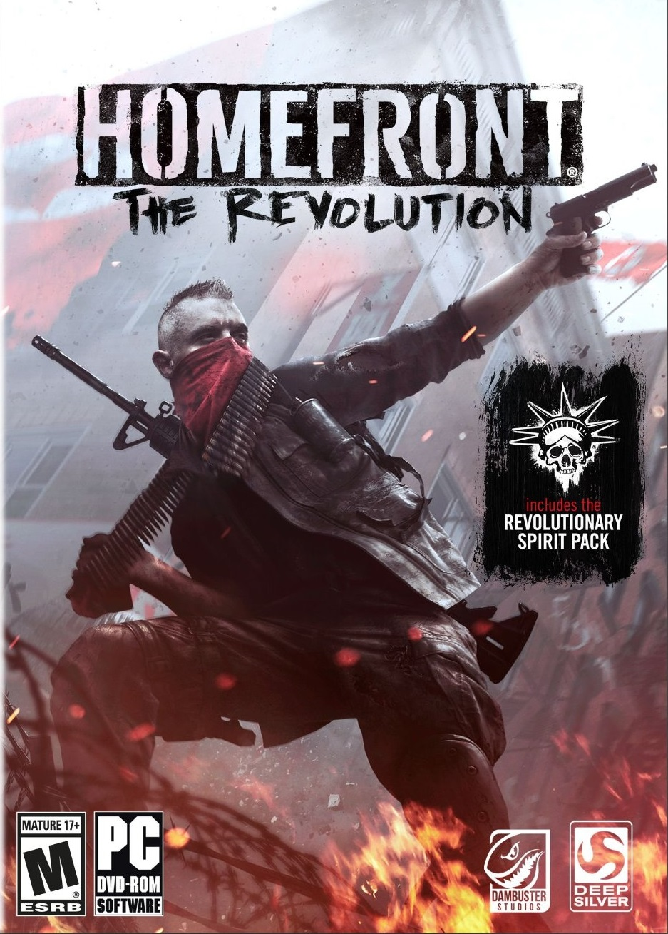 Poster Homefront: The Revolution (2016)