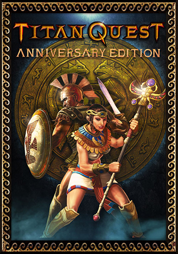 Cover Titan Quest: Anniversary Edition [v 1.54 + DLC] (2016) PC | RePack от R.G. Механики
