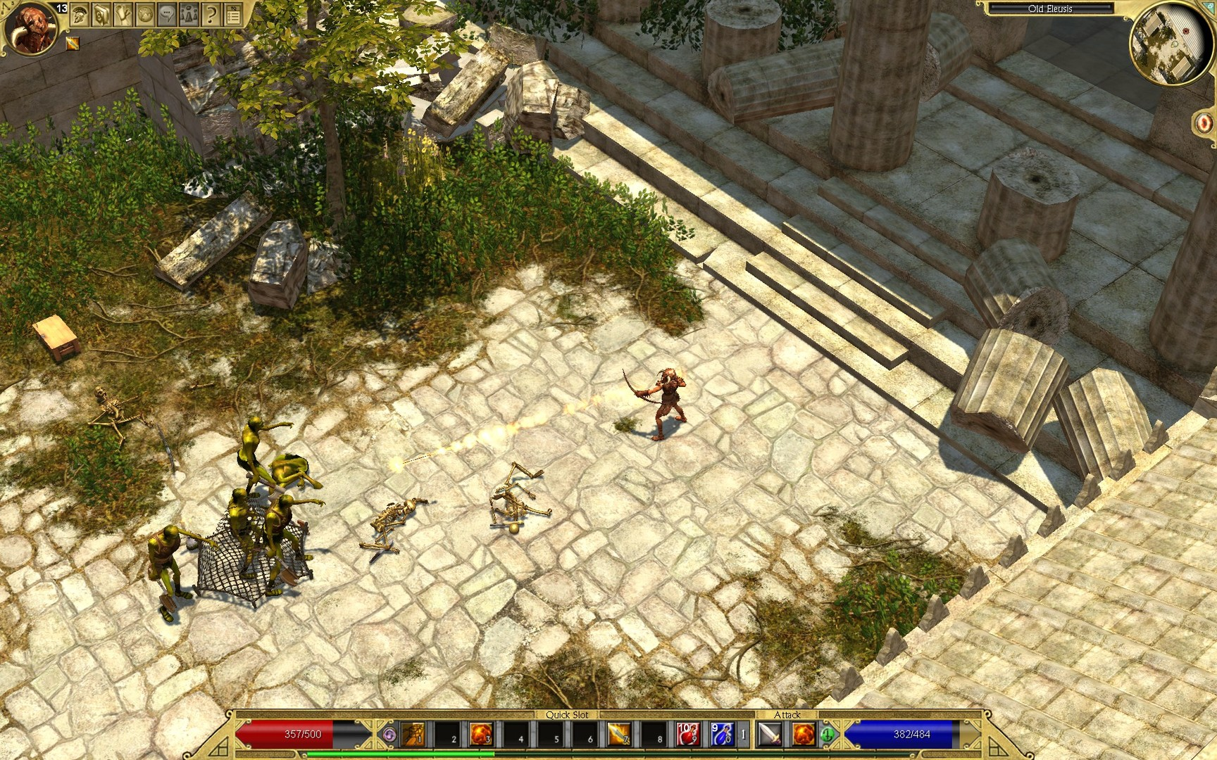 Screenshot for the game Titan Quest: Anniversary Edition [v 1.54 + DLC] (2016) PC | RePack от R.G. Механики