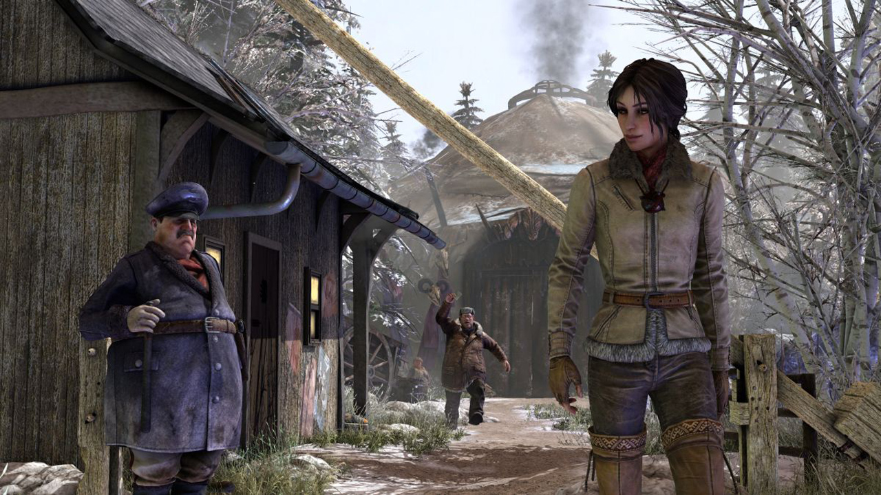 Screenshot for the game Сибирь 3 / Syberia 3: Deluxe Edition [v 2.2] (2017) PC | RePack от R.G. Механики