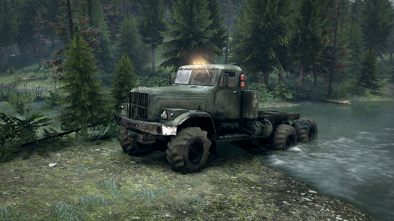 Screenshot for the game Spintires [Build 25.12.15] (2014) PC | RePack от R.G. Механики