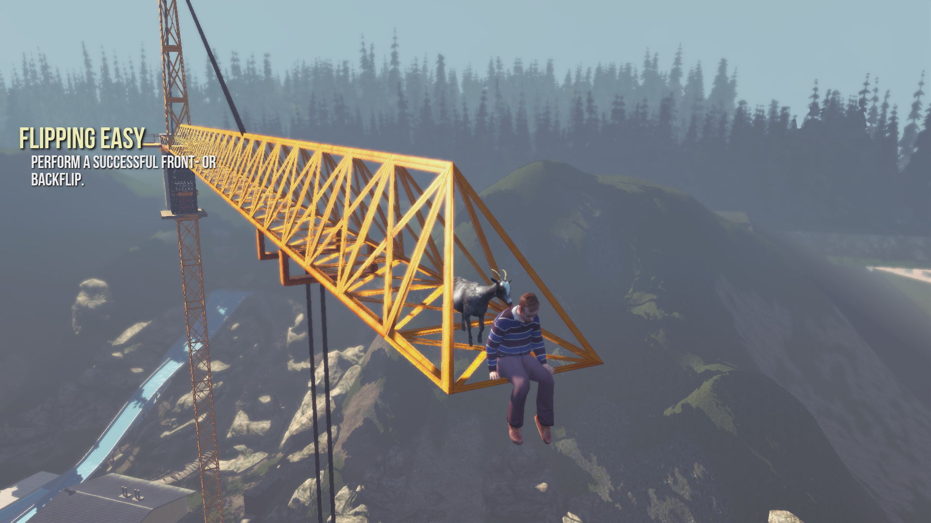 Screenshot for the game Симулятор Козла / Goat Simulator [v 1.5.58533 + 4 DLC] (2014) PC | RePack от R.G. Механики