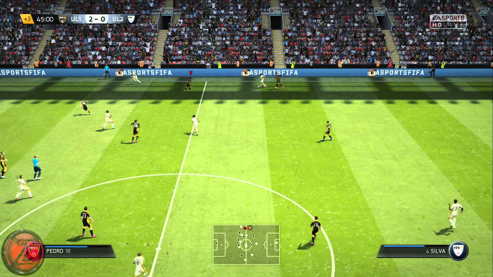 Screenshot for the game FIFA 15: Ultimate Team Edition (2014) PC | RePack от R.G. Механики