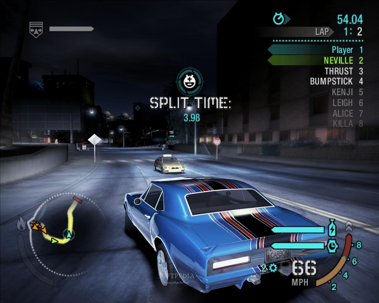 Screenshot for the game Need for Speed: Carbon (2006) PC | RePack от R.G. Механики