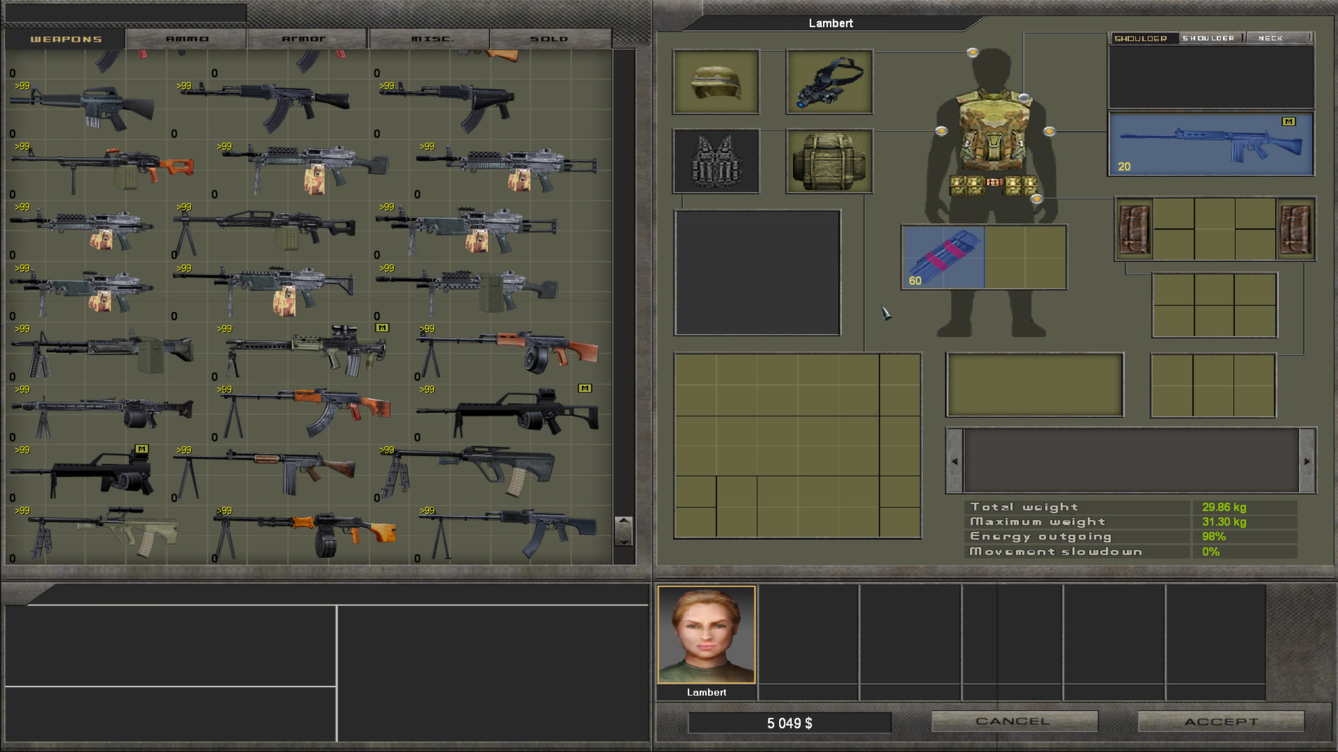 Screenshot for the game 7.62: High Calibre + Hard Life Mod (2009-2010) РС | RePack от R.G. Механики