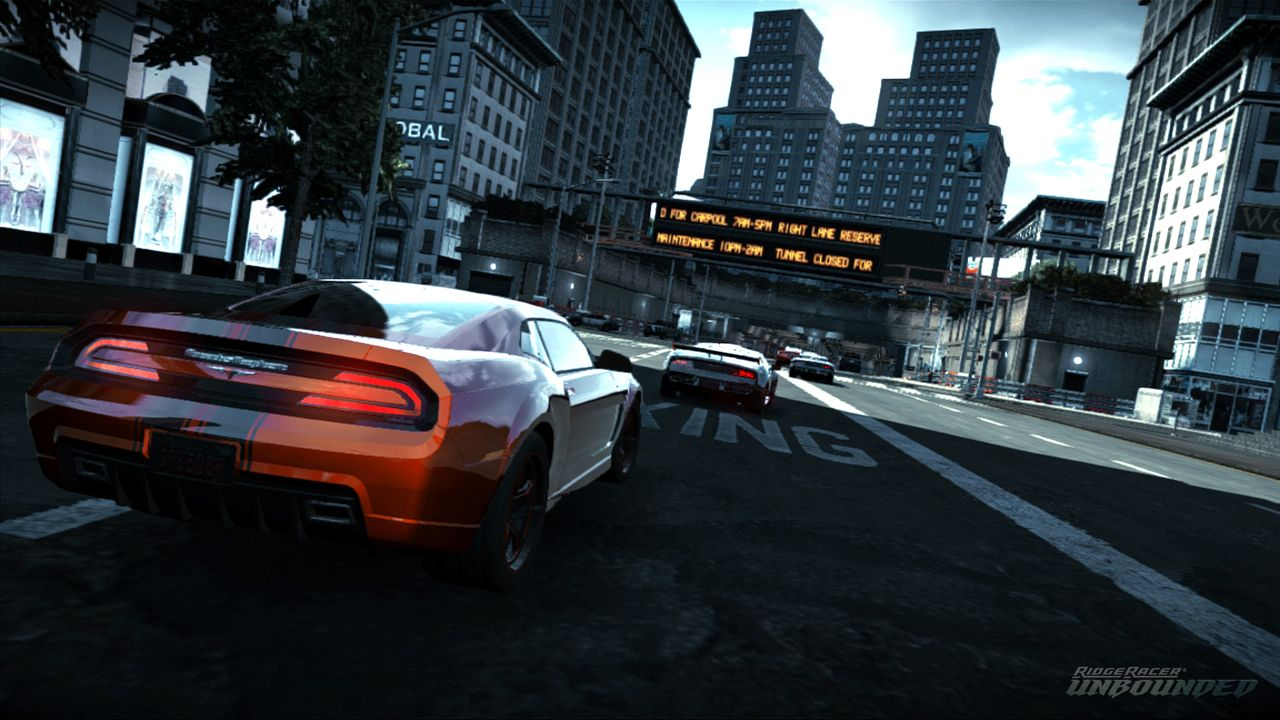 Screenshot for the game Ridge Racer Unbounded [v 1.13] (2012) PC | RePack от R.G. Механики