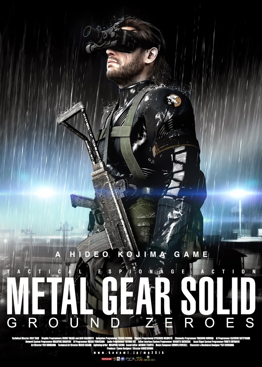 Poster Metal Gear Solid V: Ground Zeroes (2014)