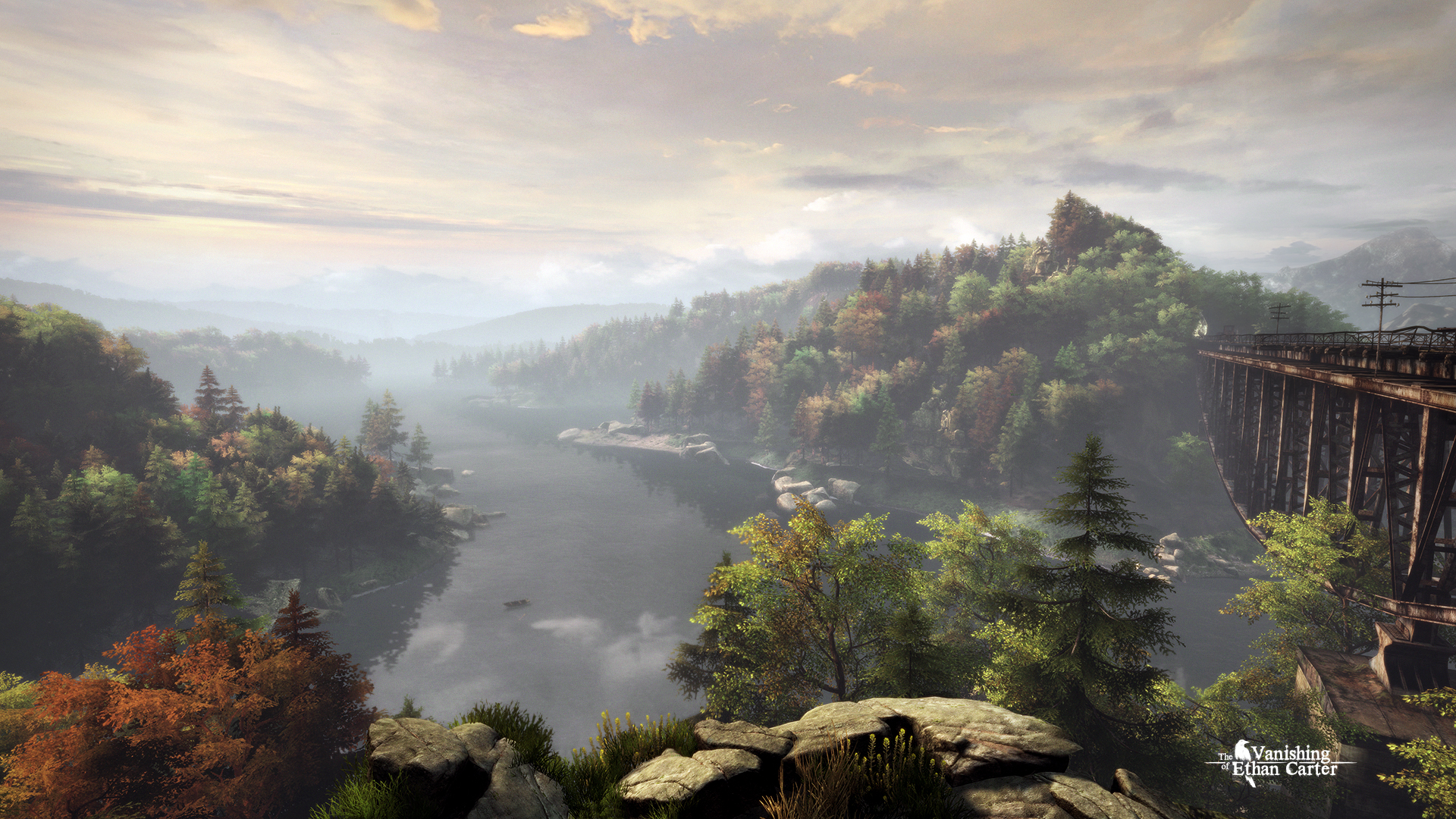 Screenshot for the game The Vanishing of Ethan Carter [Update 5] (2014) PC | RePack от R.G. Механики