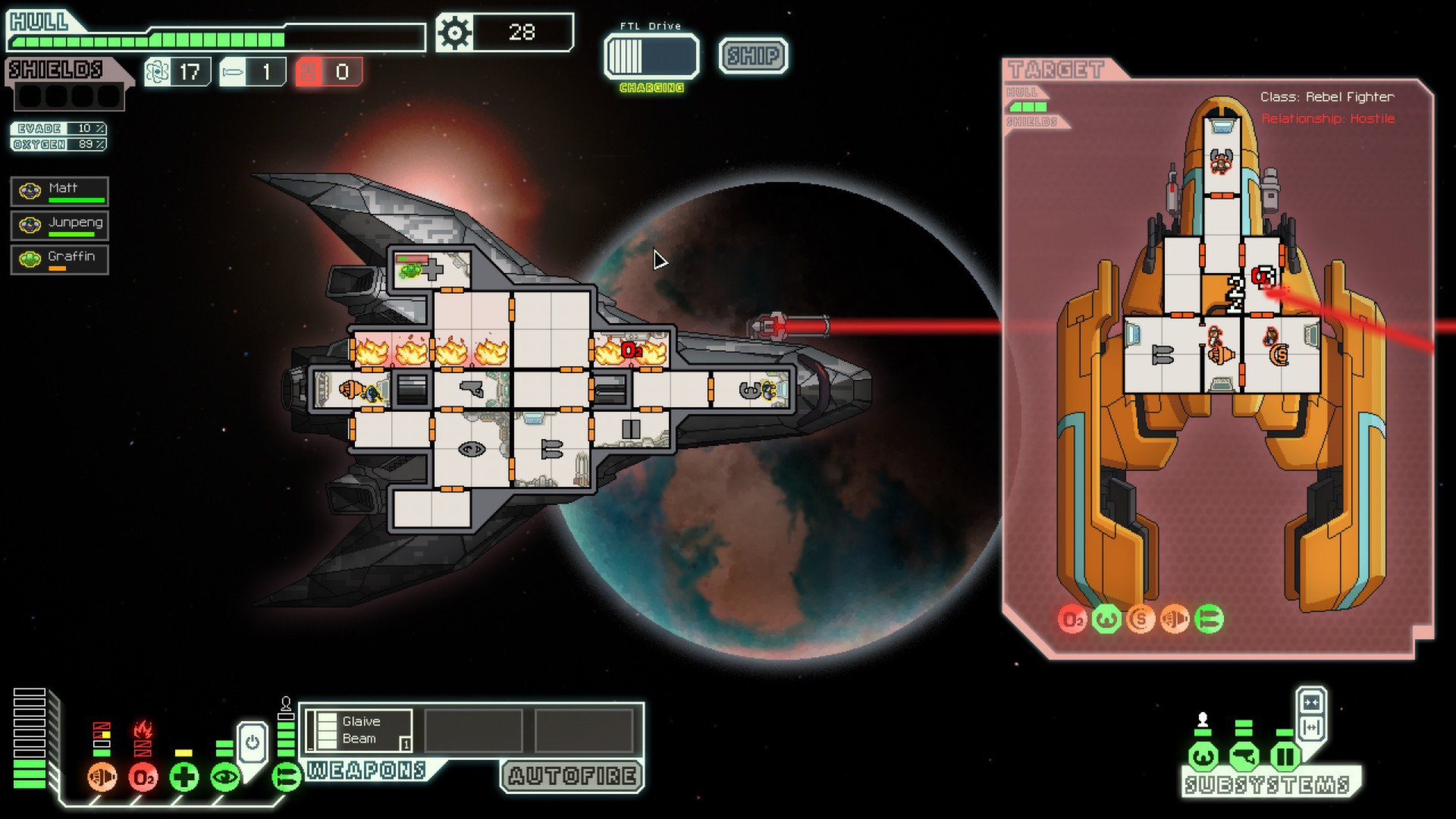 Screenshot for the game FTL: Faster Than Light [v 1.6.7] (2012) PC | RePack от R.G. Механики