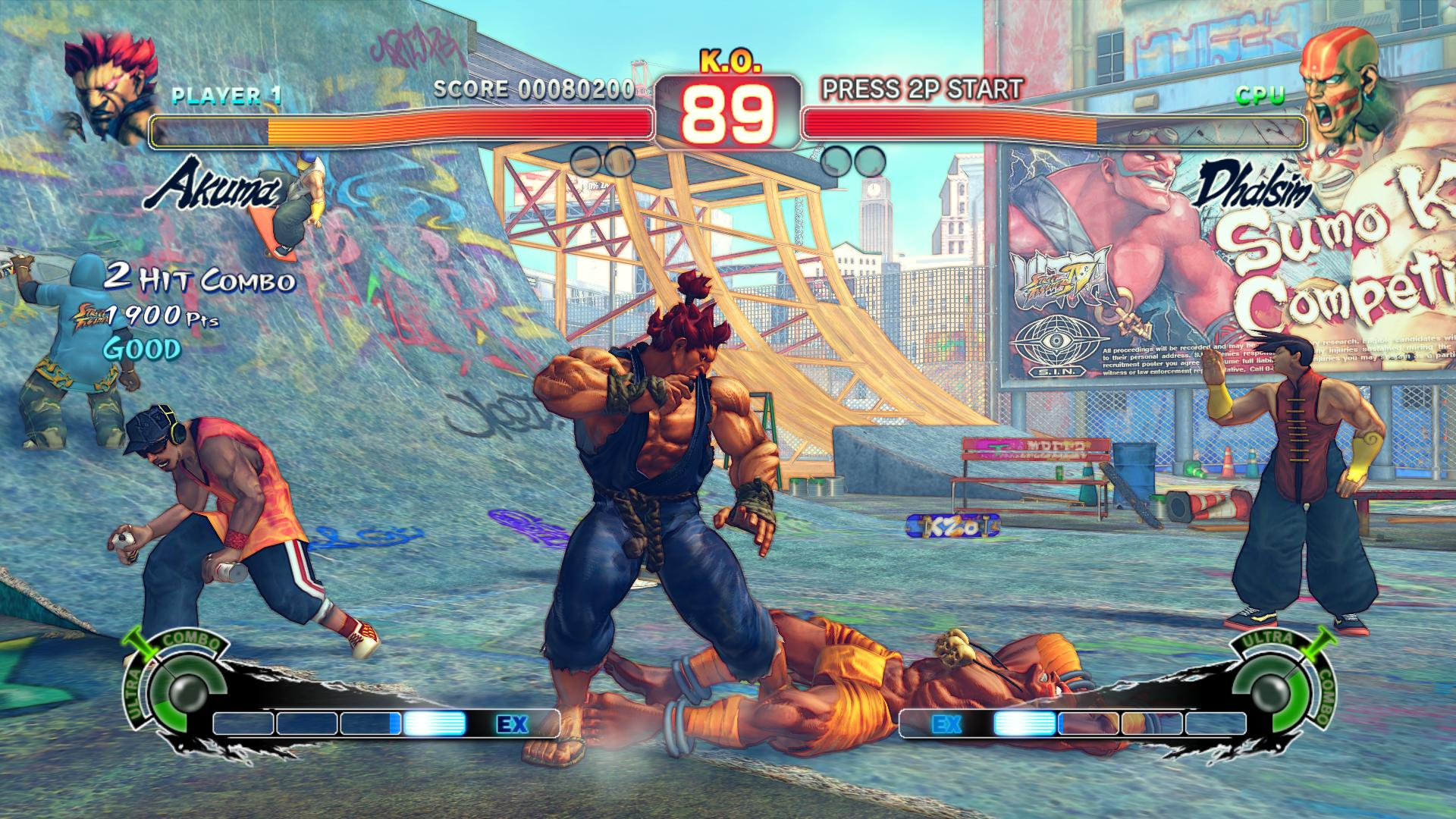 Screenshot for the game Ultra Street Fighter IV [Update 5] (2014) PC | RePack от R.G. Механики