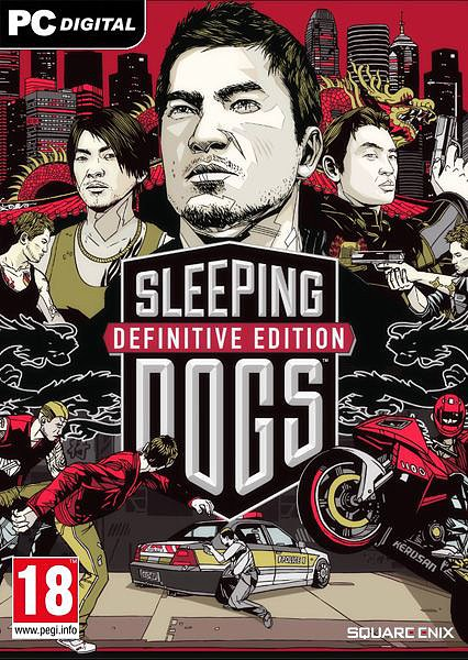 Poster Sleeping Dogs: Definitive Edition (2014)