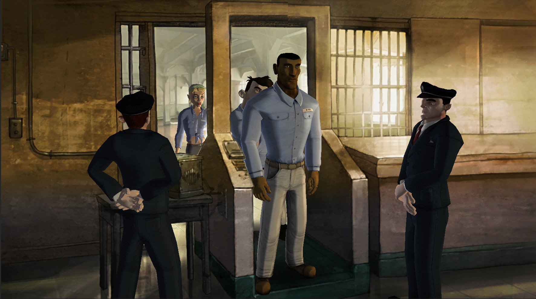 Screenshot for the game 1954 Alcatraz (2014) PC | RePack от R.G. Механики