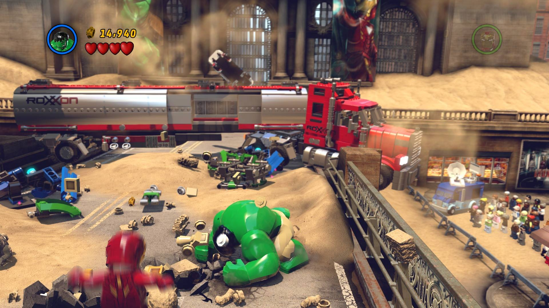 Screenshot for the game LEGO Marvel Super Heroes (2013) download torrent RePack