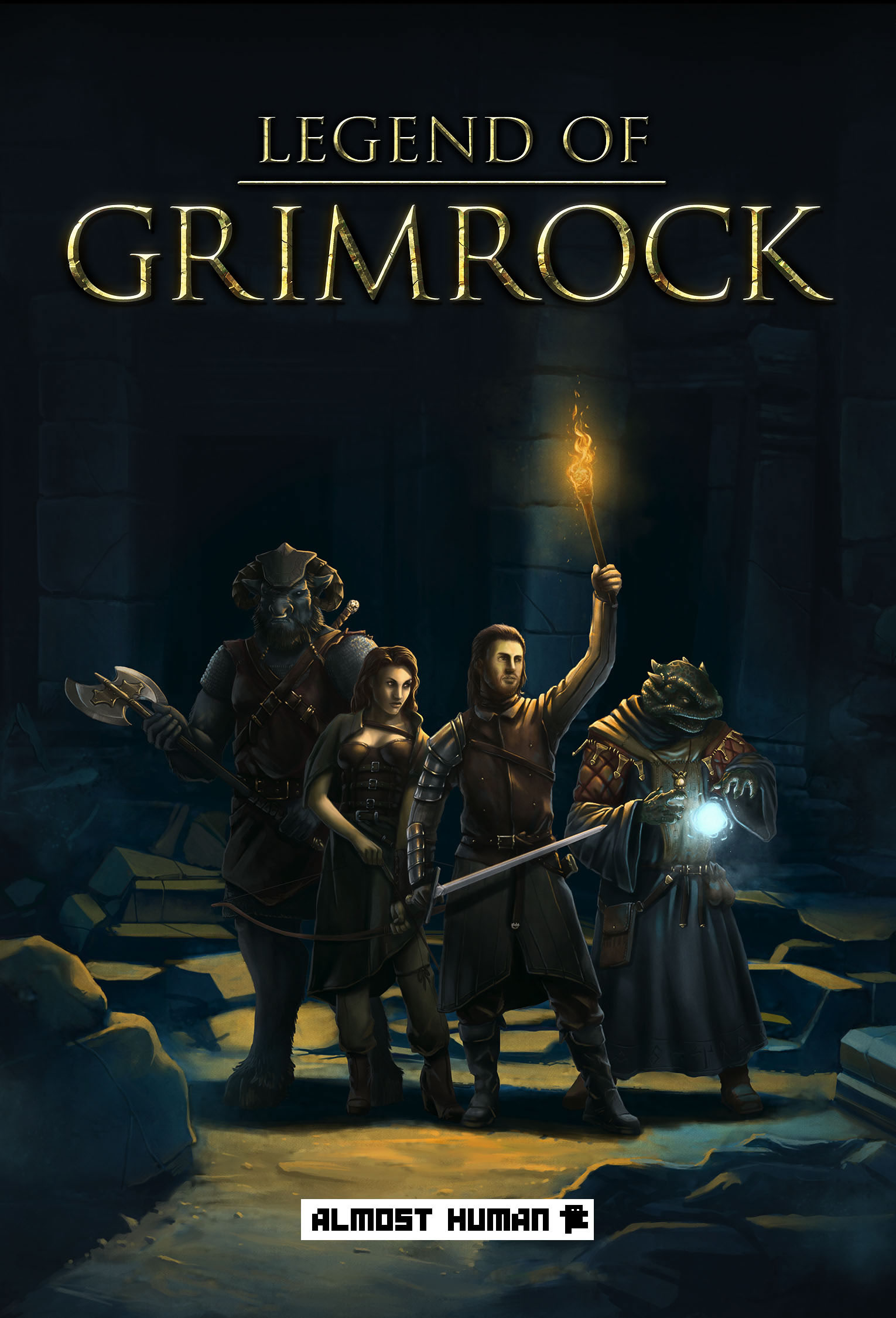 Poster Legend Of Grimrock (2012)