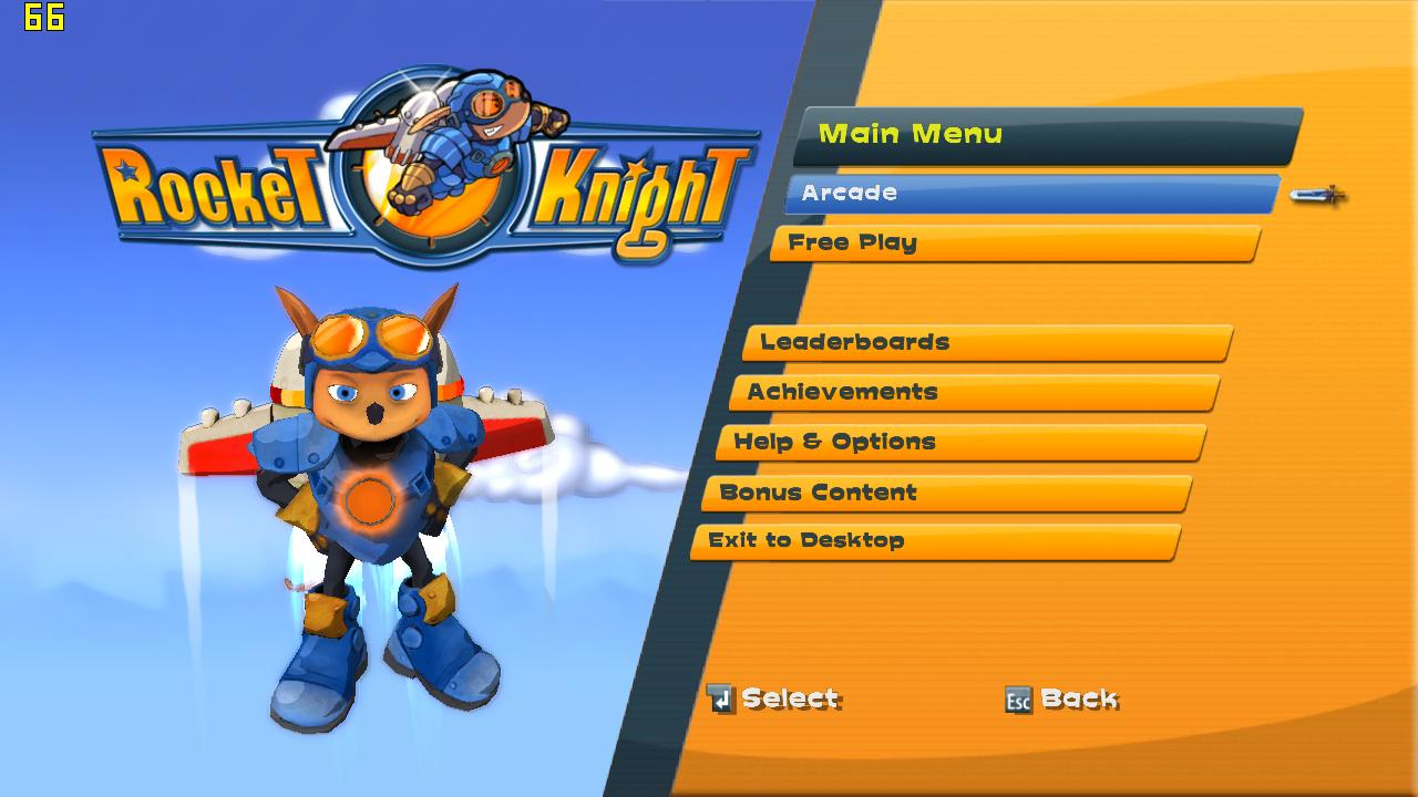 Screenshot for the game Rocket Knight (2010) PC | RePack by R.G. Mechanics