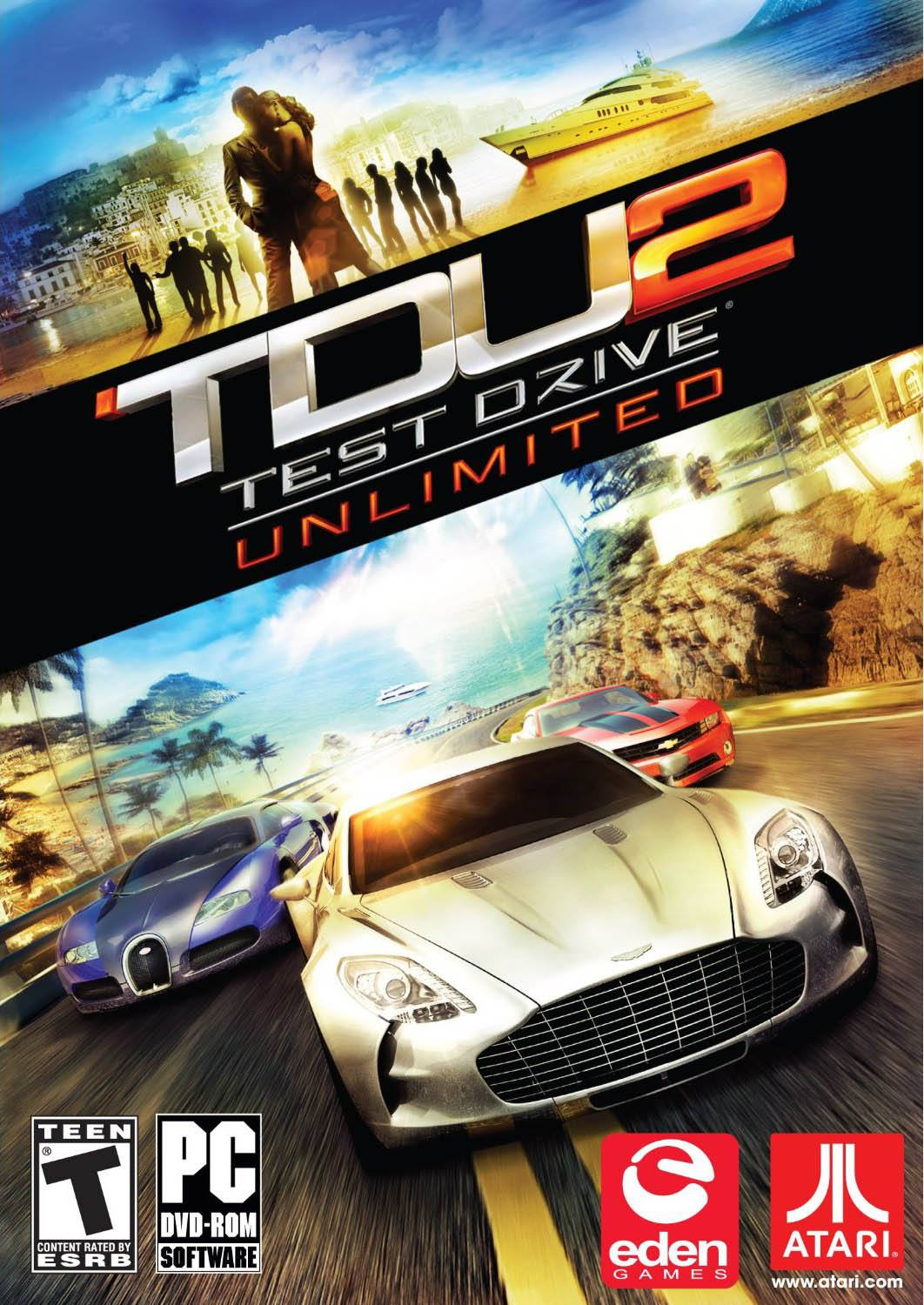 Cover Test Drive Unlimited 2 (2011) PC | RePack от R.G. Механики