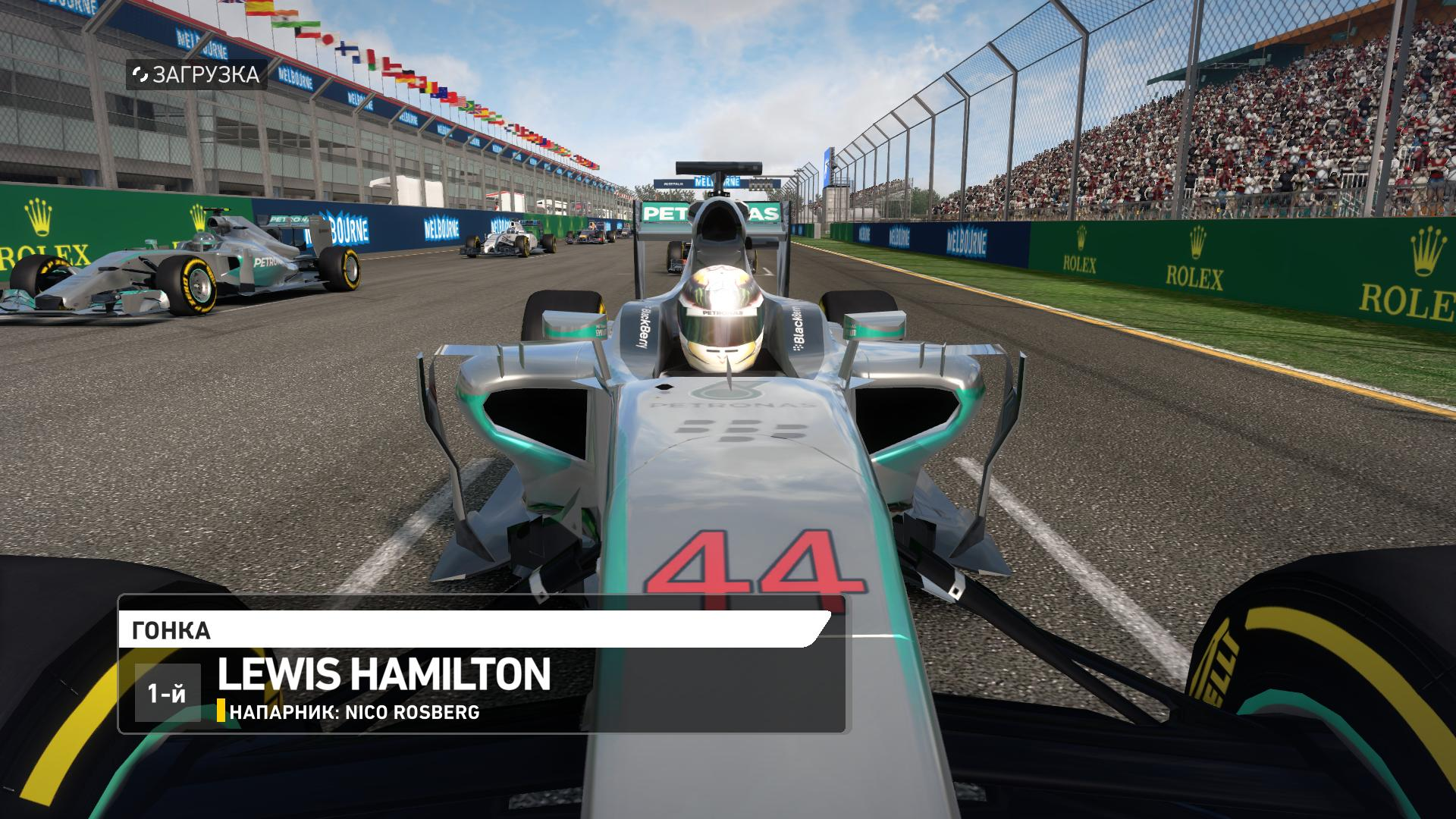Screenshot for the game F1 2014 (2014) PC | RePack от R.G. Механики