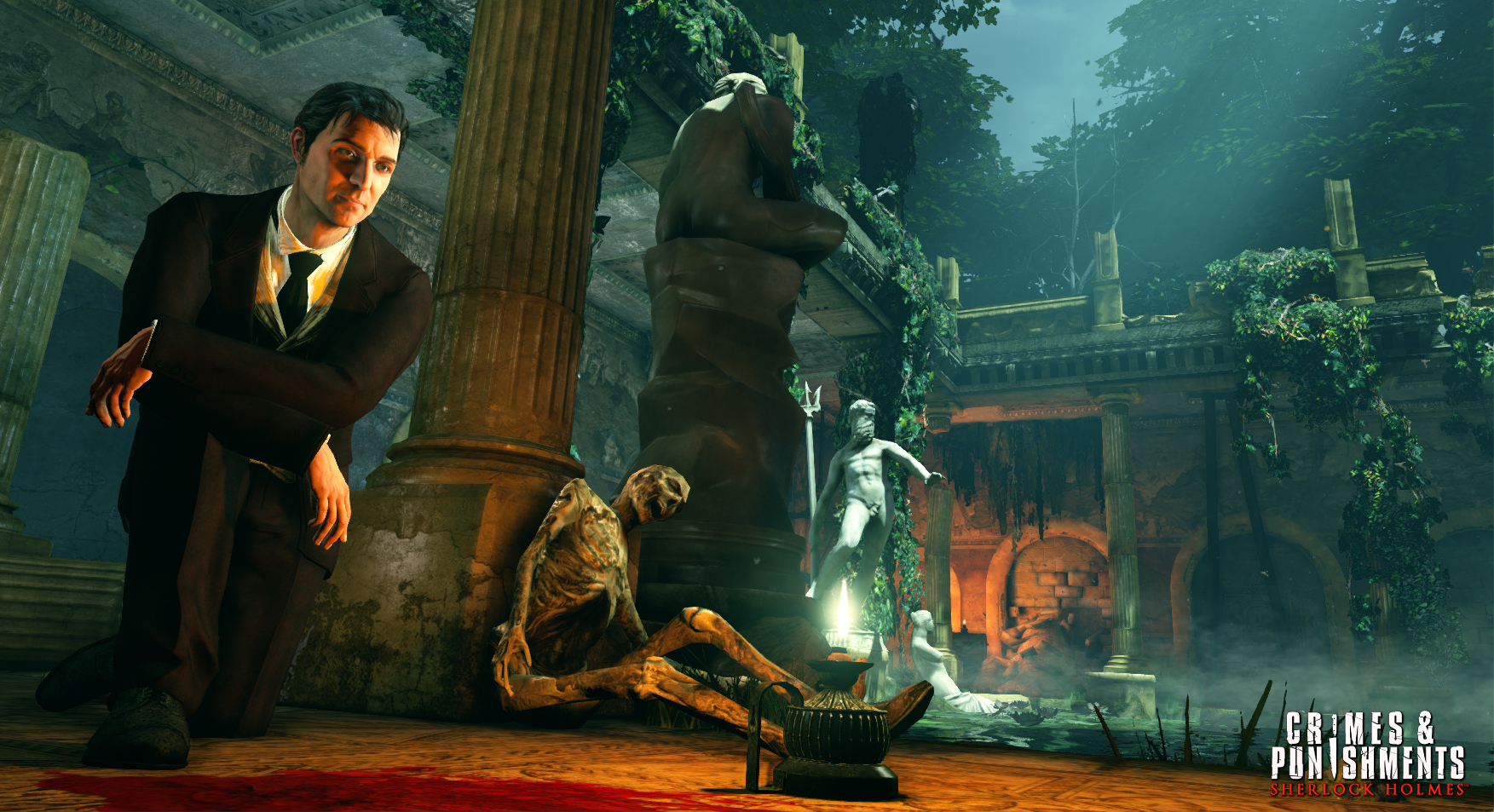 Screenshot for the game Sherlock Holmes: Crimes and Punishments (2014) PC | RePack от R.G. Механики