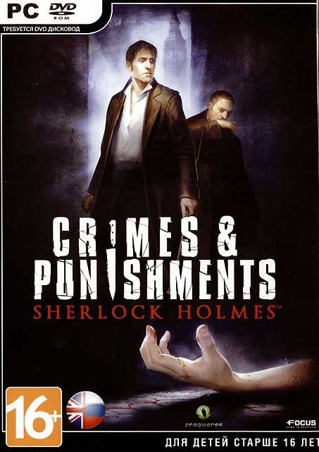 Cover Sherlock Holmes: Crimes and Punishments (2014) PC | RePack от R.G. Механики