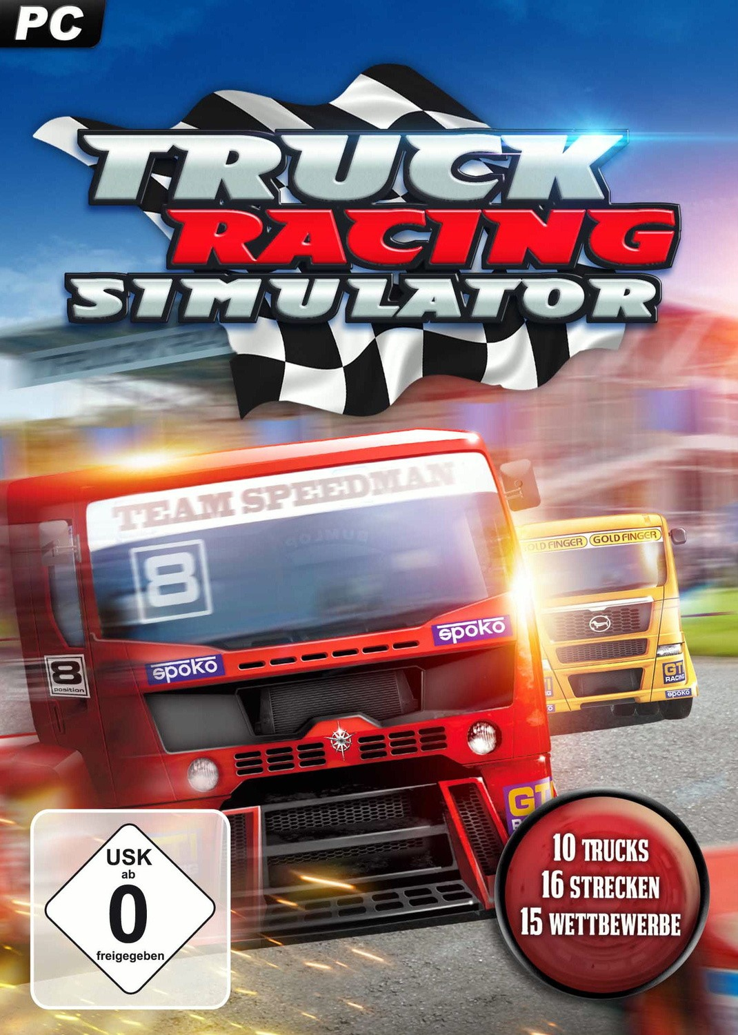 Cover World Truck Racing (2014) PC | RePack by R.G. The mechanics