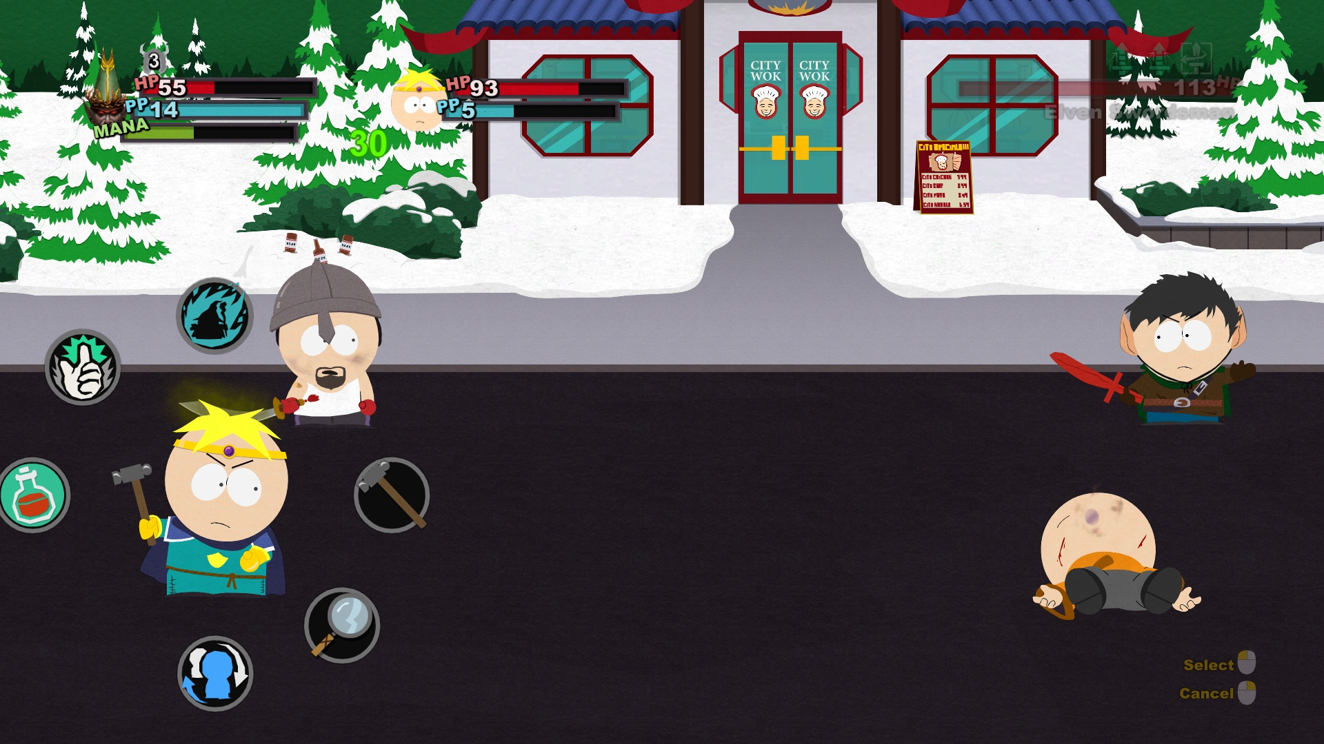 Screenshot for the game South Park: Stick of Truth [v 1.0.1380/83 + DLC] (2014) PC | RePack от R.G. Механики