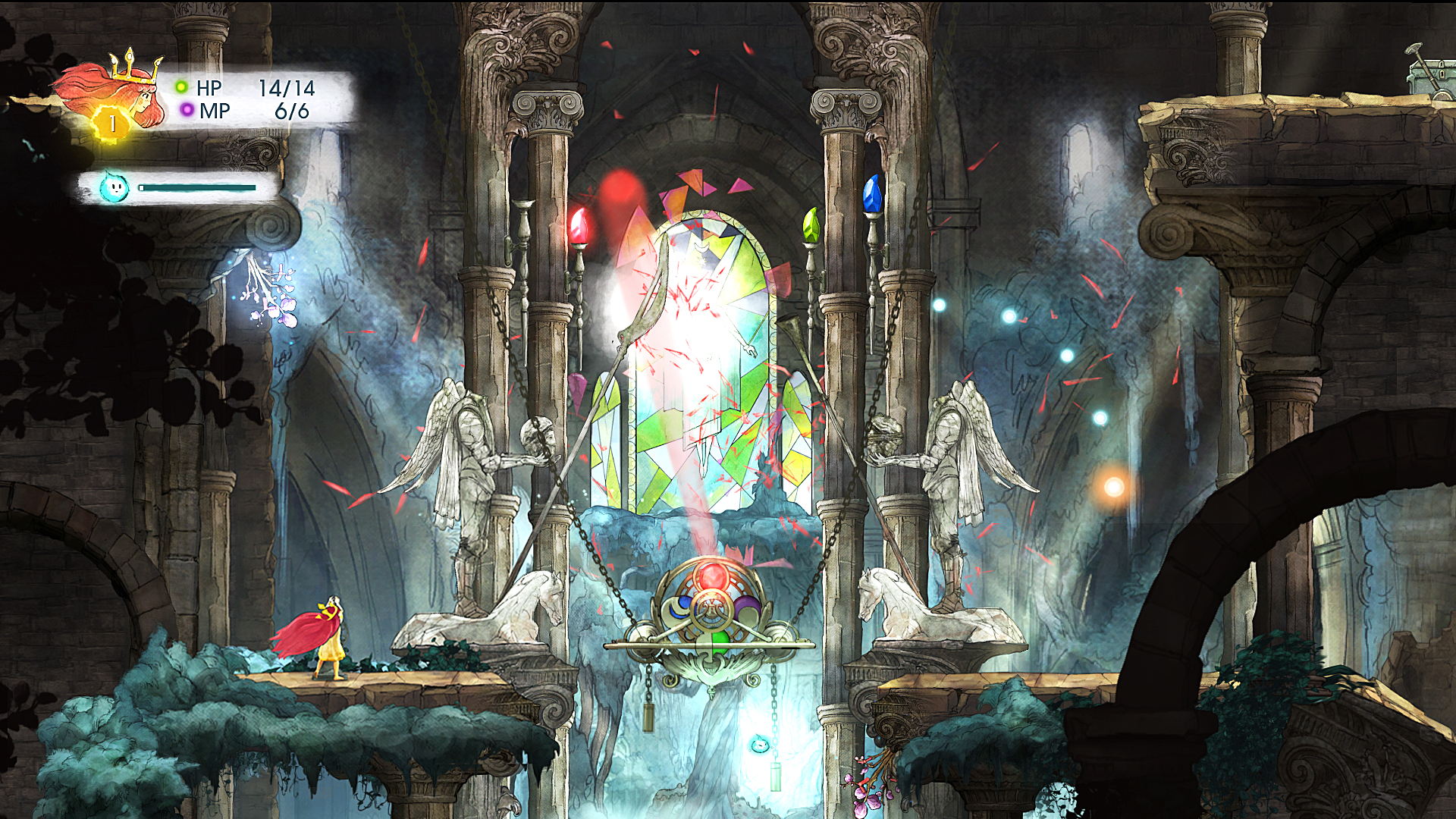 Screenshot for the game Child of Light (2014) РС | RePack от R.G. Механики