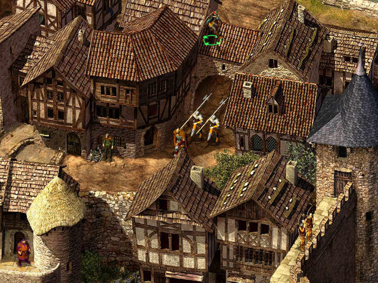 Screenshot for the game Робин Гуд: Легенда Шервуда / Robin Hood: The Legend of Sherwood (2002) PC | RePack от R.G. Механики