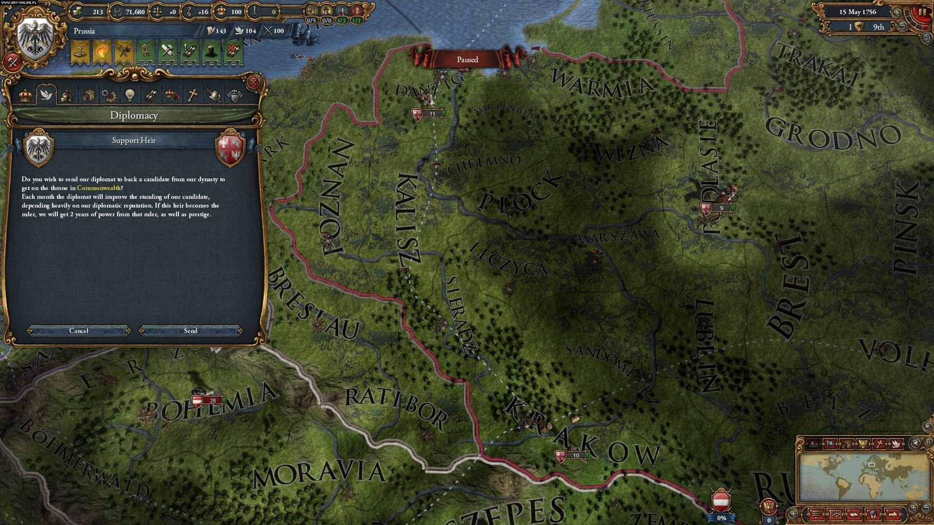 Screenshot for the game Europa Universalis IV - Res Publica (2013) PC | RePack от R.G. Механики