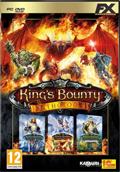 Cover King's Bounty - Anthology (2008-2012) PC | RePack от R.G. Механики