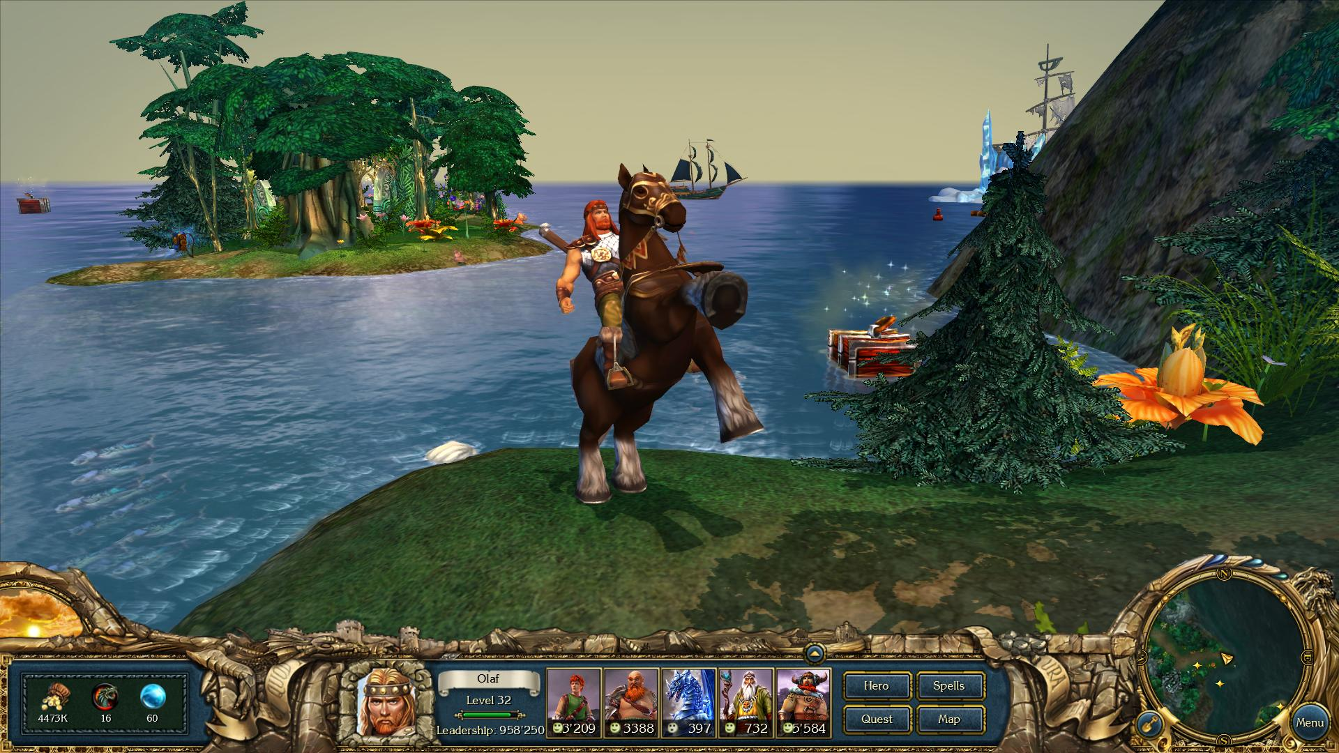 Screenshot for the game King's Bounty - Anthology (2008-2012) PC | RePack от R.G. Механики