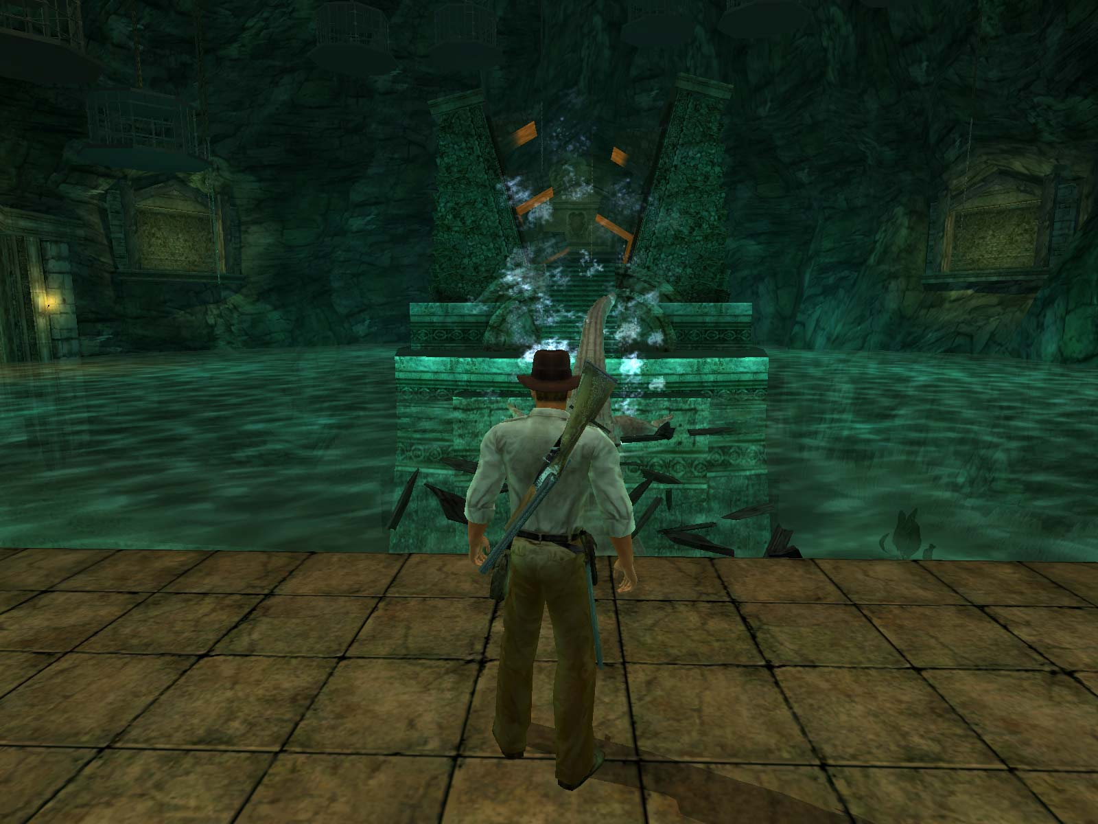 Screenshot for the game Indiana Jones and the Emperor's Tomb (2003) PC | RePack от R.G. Механики