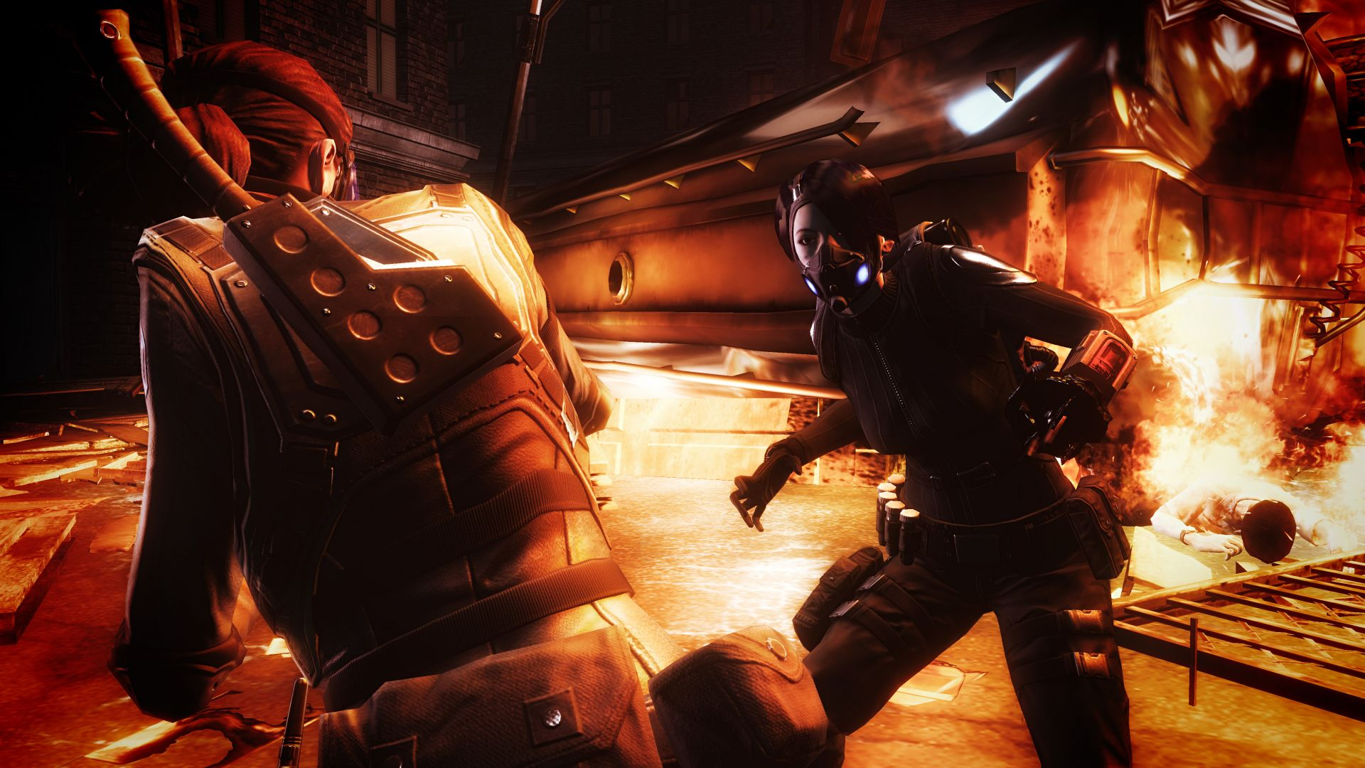 Screenshot for the game Resident Evil: Operation Raccoon City (2012) PC | RePack от R.G. Механики