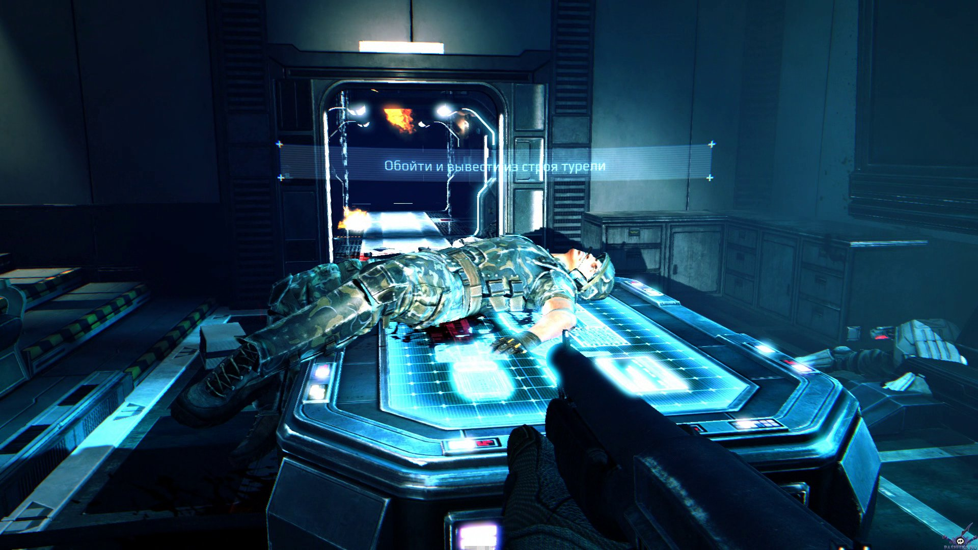 Screenshot for the game Aliens: Colonial Marines [v 1.0.210.751923] (2013) PC | RePack от R.G. Механики