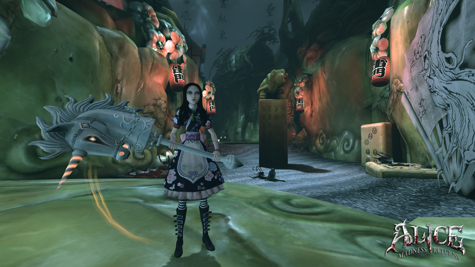 Screenshot for the game Alice: Madness Returns (2011) RS | Repack by R.G. The mechanics