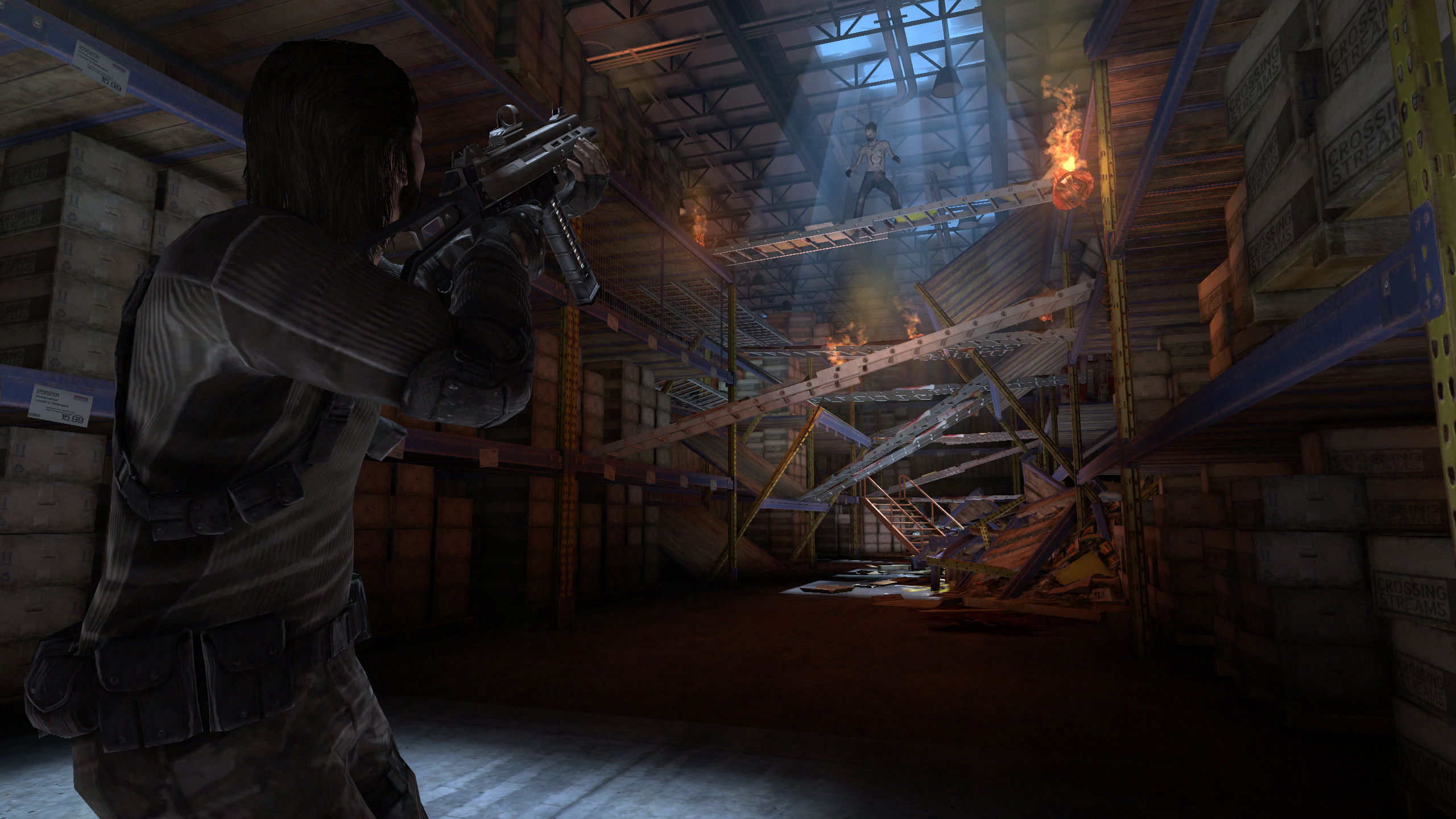 Screenshot for the game F.E.A.R. - Антология (2005-2011) PC | RePack от R.G. Механики