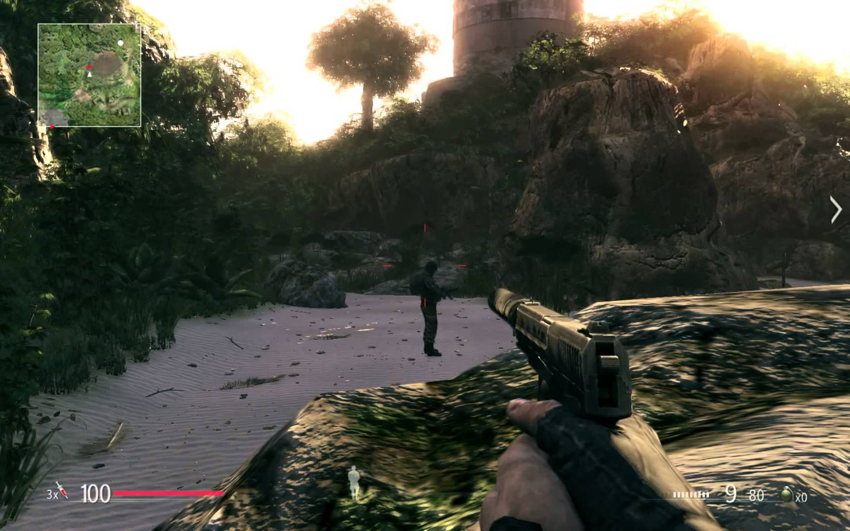 Screenshot for the game Sniper: Ghost Warrior - Gold Edition (2010) PC | RePack от R.G. Механики