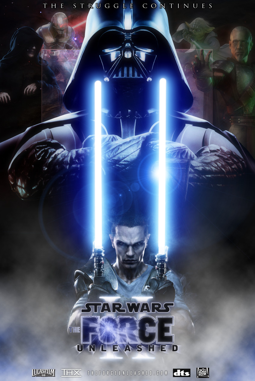 Poster Star Wars: The Force Unleashed - Dilogy (2009)