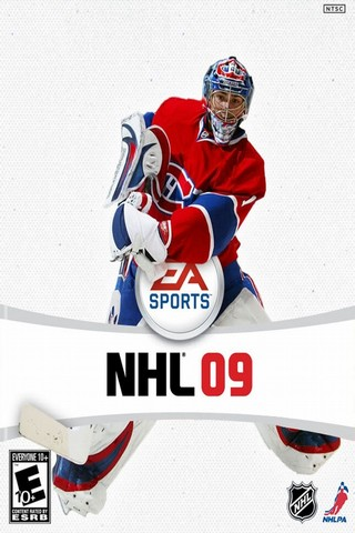 Poster NHL 09 (2008)