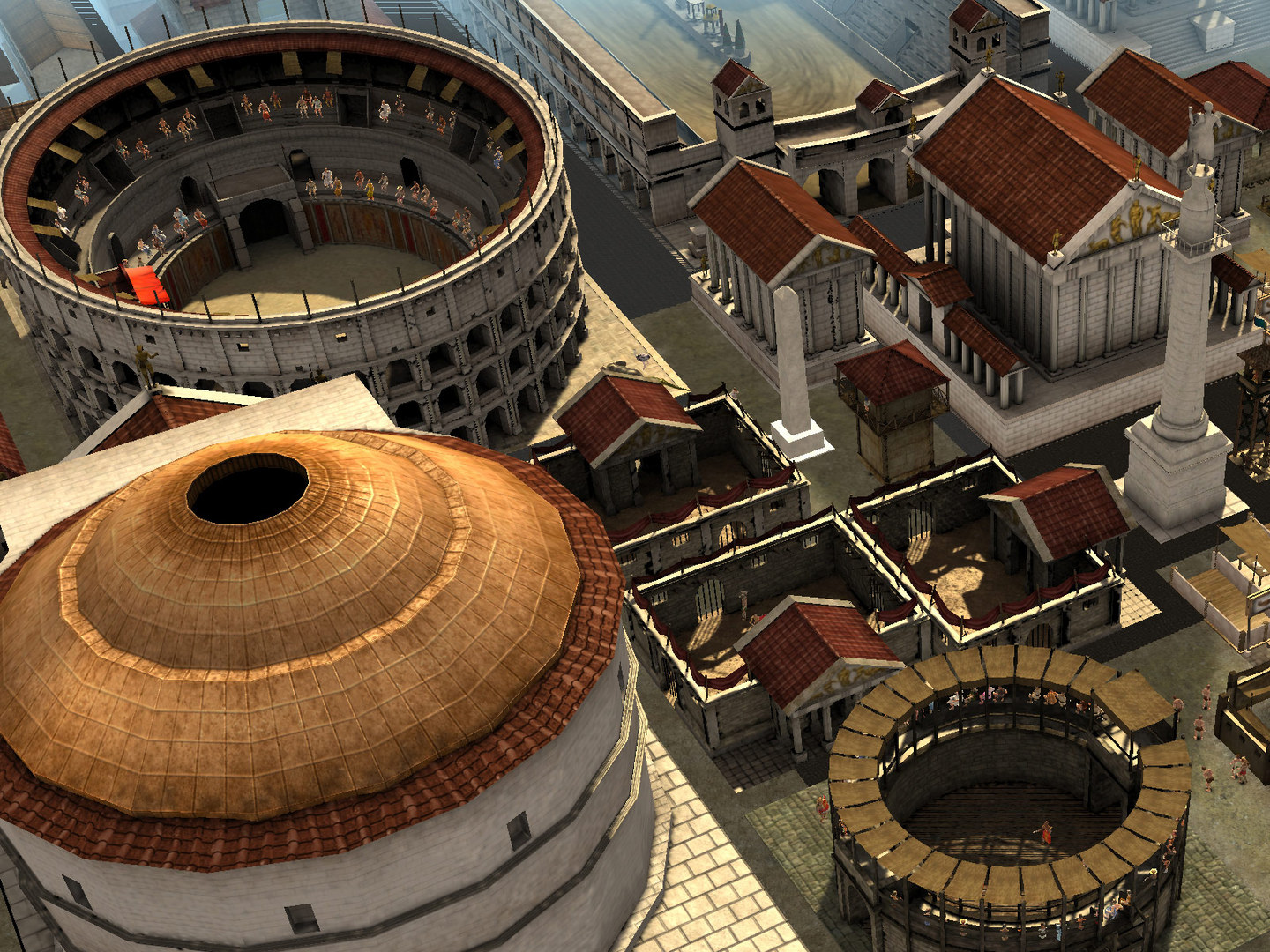 Screenshot for the game CivCity: Rome (2008) PC | RePack от R.G. Механики