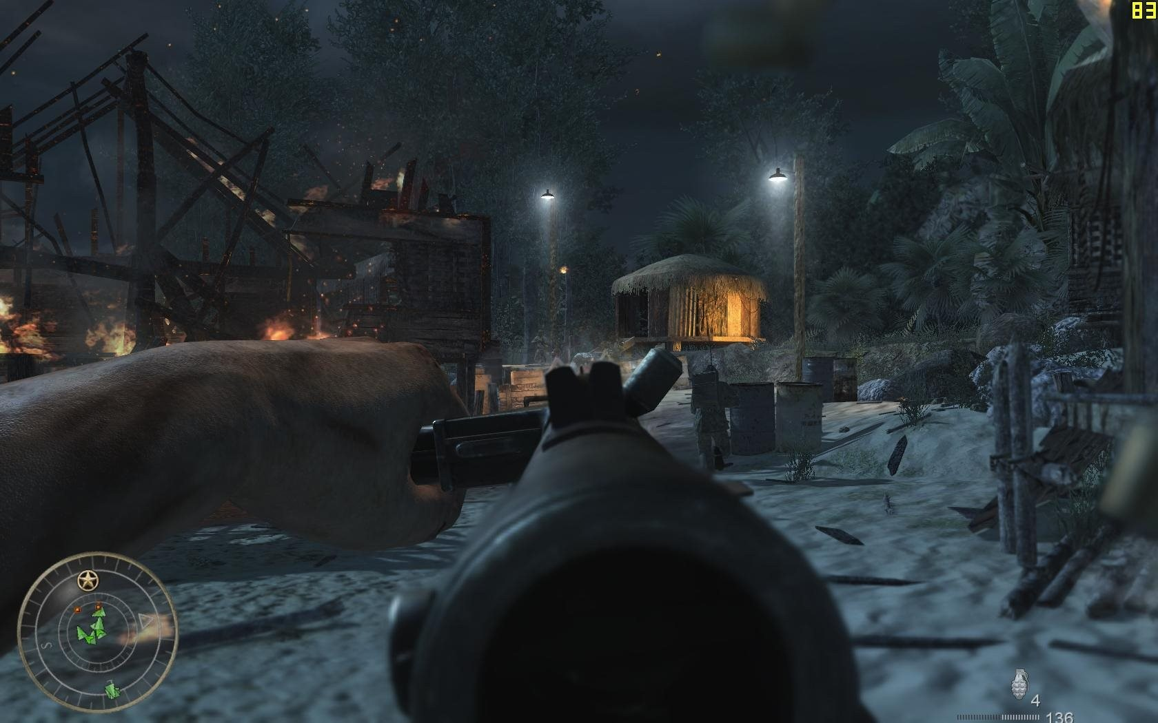 Screenshot for the game Call of Duty: World at War (2008) PC | RePack от R.G. Механики